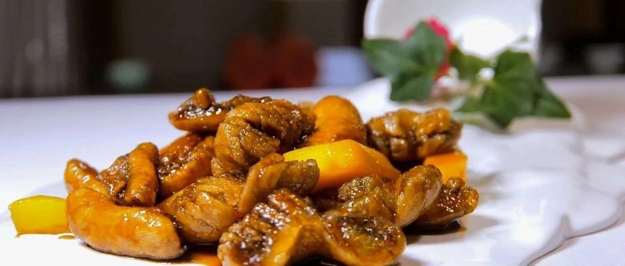 【舌尖上的素食】芒果素螺肉